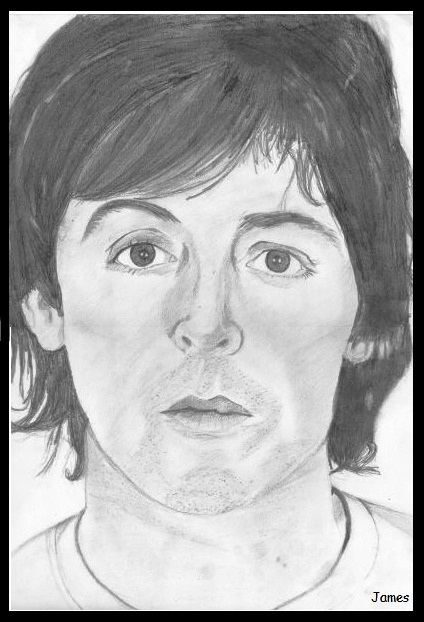 Paul McCartney by James
